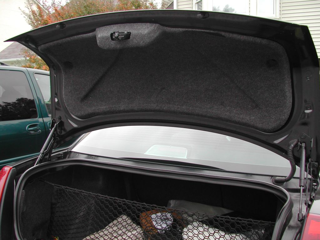 Trunk Lid Liner Installed Pic
